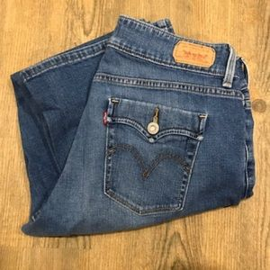 Levi's 529 Curvy Boot Jeans